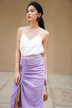 Lilac Frilled Skirt