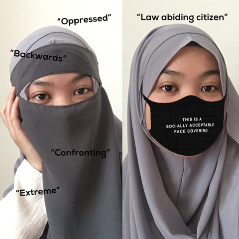 Niqab vs Mask