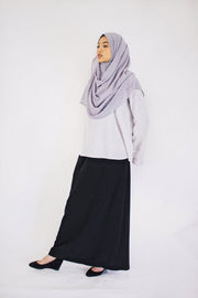 Classic Black Long Skirt