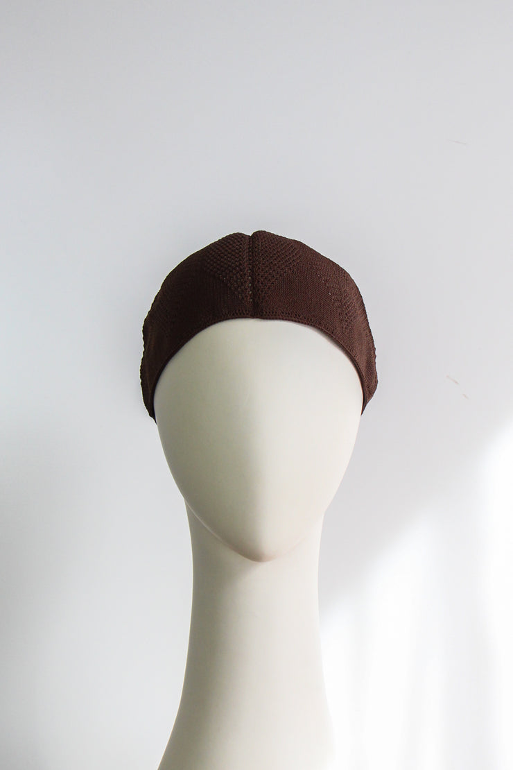 Cotton Knitted Cap - Design 2