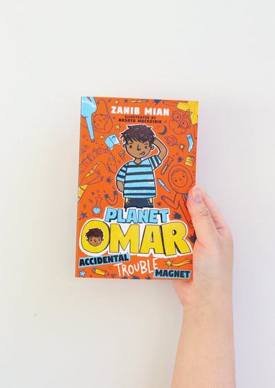 Planet Omar: Accidental Trouble Magnet - Book 1 by Zanib Mian
