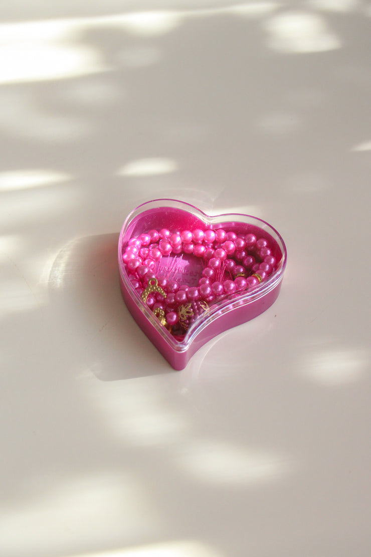 Thikr Beads in Love heart Gift Box