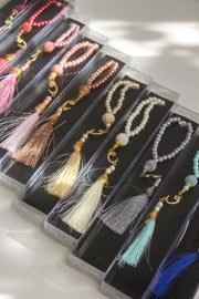Thikr Beads in Black Rectangular Box