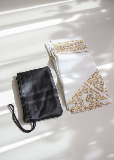 Travel Prayer Mat - White