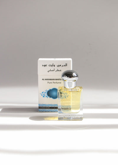 Unisex White Oudh Roll On Attar