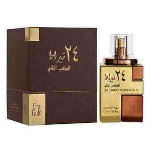 Womens 24 Carat Pure Gold Perfume