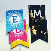 Ramadan/ Eid Decorations - Eid Mubarak + Mabrook reversible reusable bunting