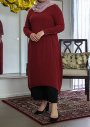 Tunic with Pockets - Woodrose
