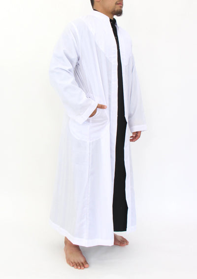 Mens Outer Garment - White