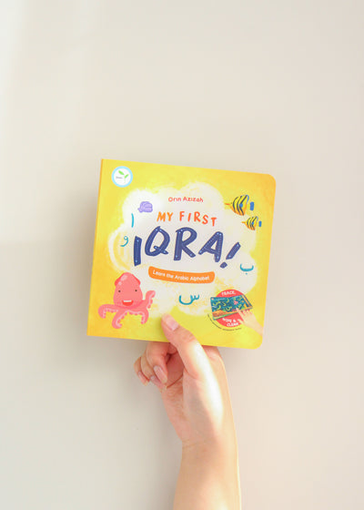 My First Iqra by Orin Azizah