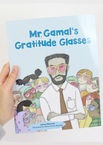 Mr. Gamal's Gratitude Glasses by Asmaa Hussein