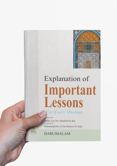 Explanation of Important Lessons