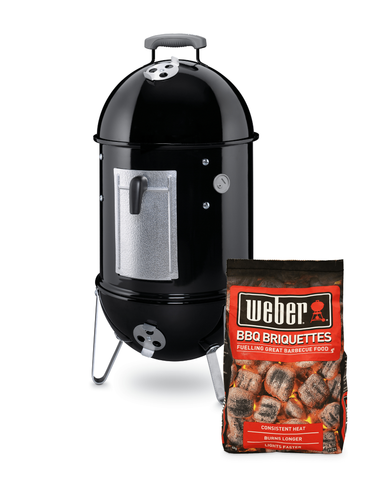 Weber Smokey Mountain 37cm Cooker Starter Pack