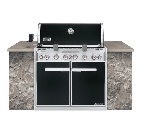 Weber Summit E660 Built-In Natural Gas Barbecue