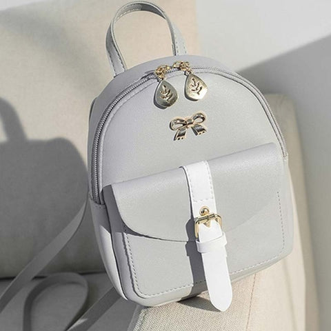 Cute Leather Backpack