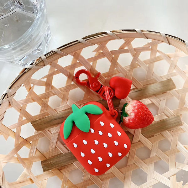 Strawberry AirPods Case