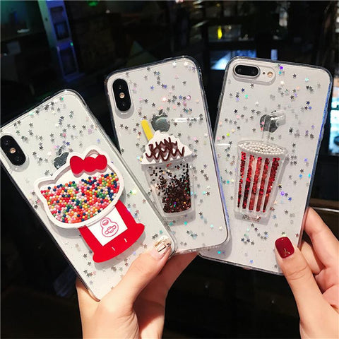 Kawaii 3D Sprinkle Case for iPhone