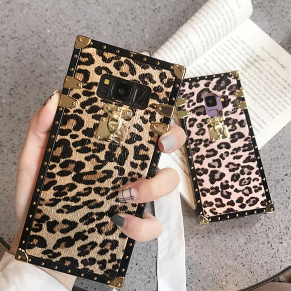 Cute Leopard Phone Case for Samsung