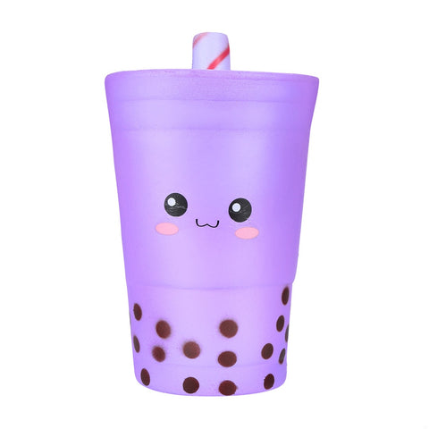 Cute Jumbo Boba Tea Squishy