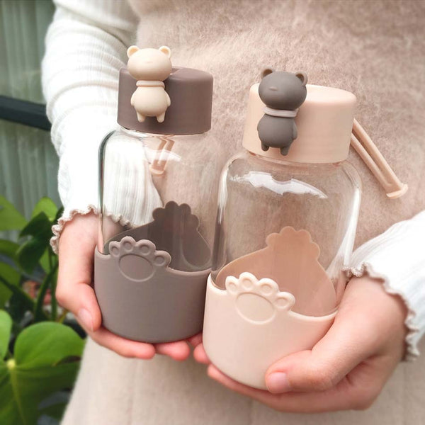 Kawaii Bear Water Bottle