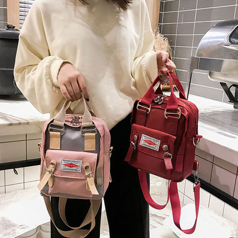 Cute Small Messenger/Backpack (2in1)