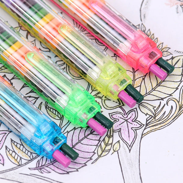 Kawaii Crayons (20 Colors)