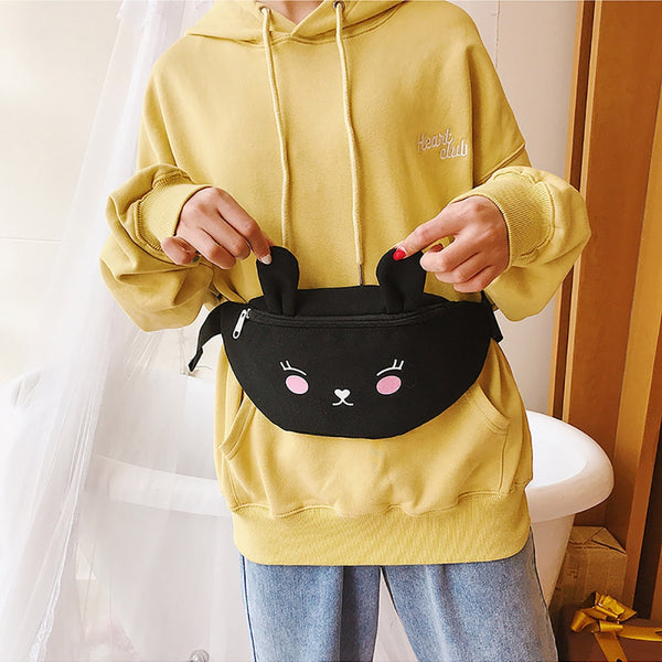 Cute Canvas Bum Bag
