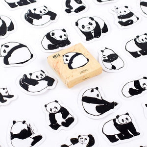 Kawaii Panda Stickers