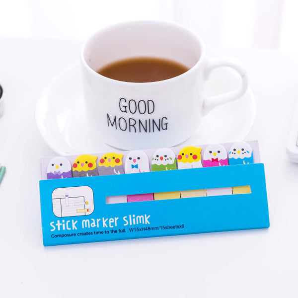 Kawaii Animal Sticky Notes