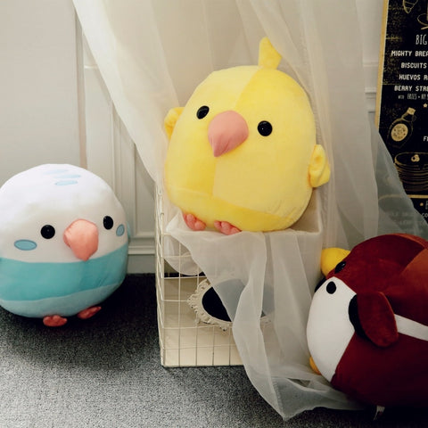 Cute Bird Plushie (3 Variants)