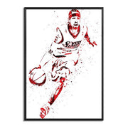 Allen Iverson Watercolor