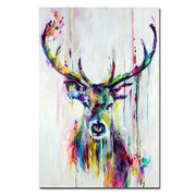 Animal Deer Pictures Canvas Wall Art