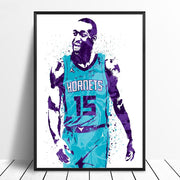 Kemba Walker Basketball Star Wall Art