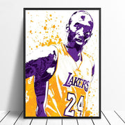 Kobe Bryant Basketball Star