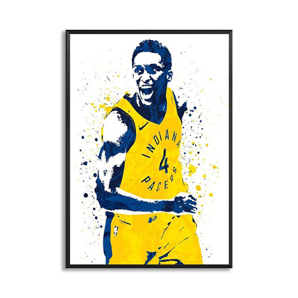 Victor Oladipo Basketball Star Wall Art