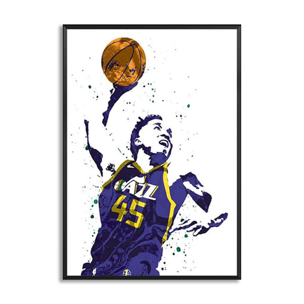 Donovan Mitchell Watercolor