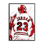 Michael Jordan 23 Wall Art