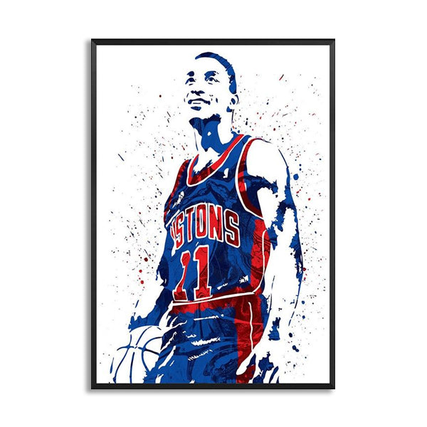 Isiah Thomas Basketball Star