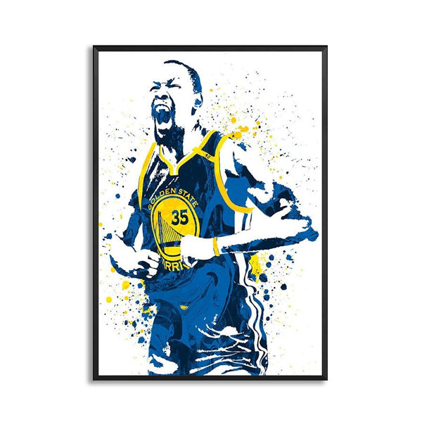 Kevin Durant Basketball Star Sports Wall Art