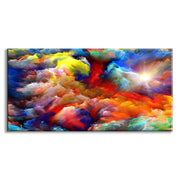 Colorful Clouds Canvas Art Wall