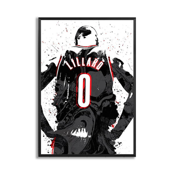 Damian Lillard Watercolor