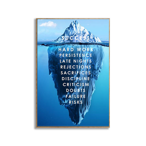 Motivational Canvas Wall Art
