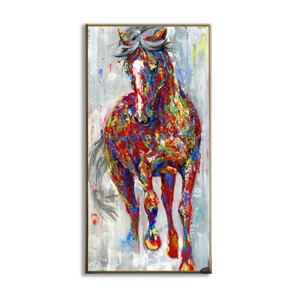 Horse Oil Paintings Wall Art