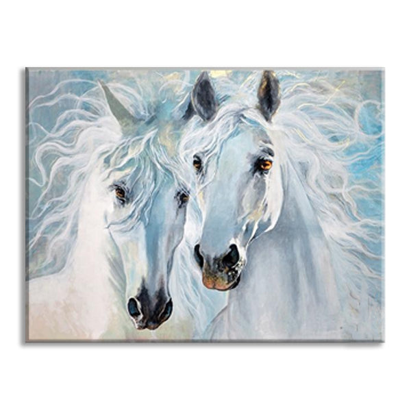 The Horse Lovers Painting Wall Art