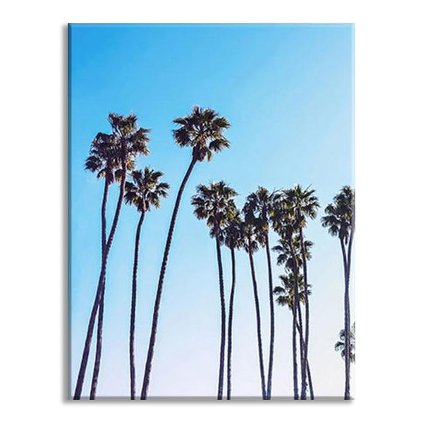 Palm Trees Nature Print Wall Art