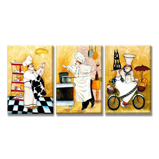 3 Panel Chef in Action