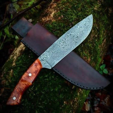 Damascus chopper