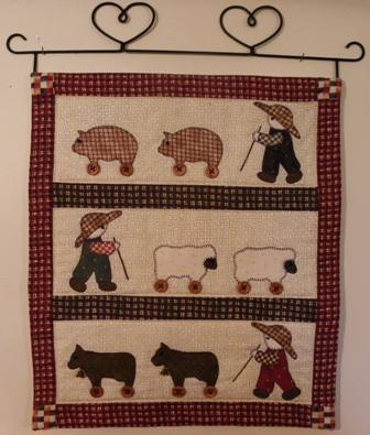 Hang Up about Sam the Herd Boy Pattern