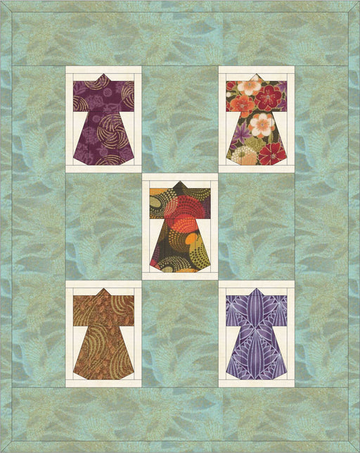 Kimono Foundation Pieced Block
