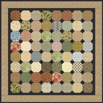 "Snowball - 5"" Charm Quilt Pattern"